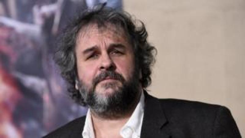Peter Jackson looks directly at the camera in this 2014 file photo
