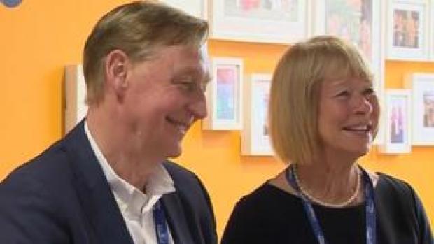 John and Irene Hays of Hays Travel