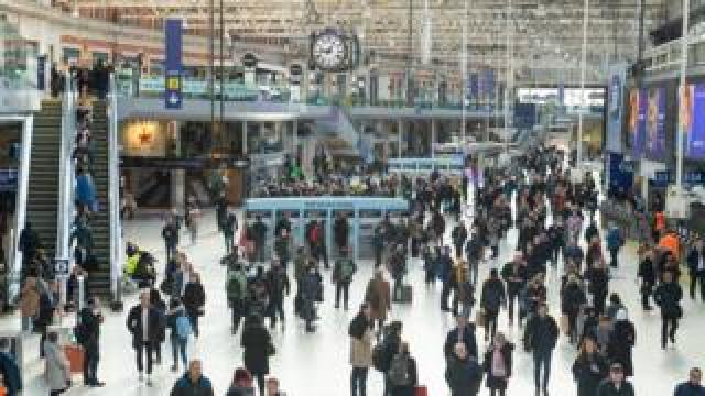 Waterloo station 12 March 2020
