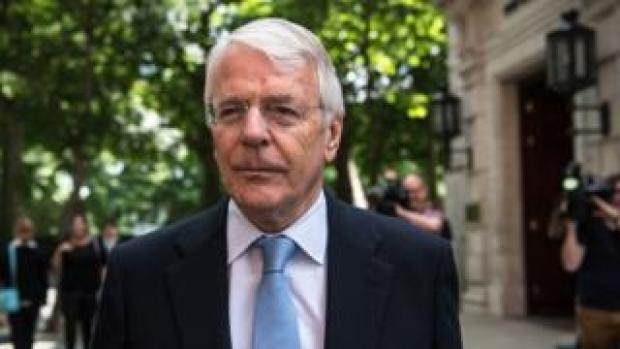 Sir John Major in June 2017
