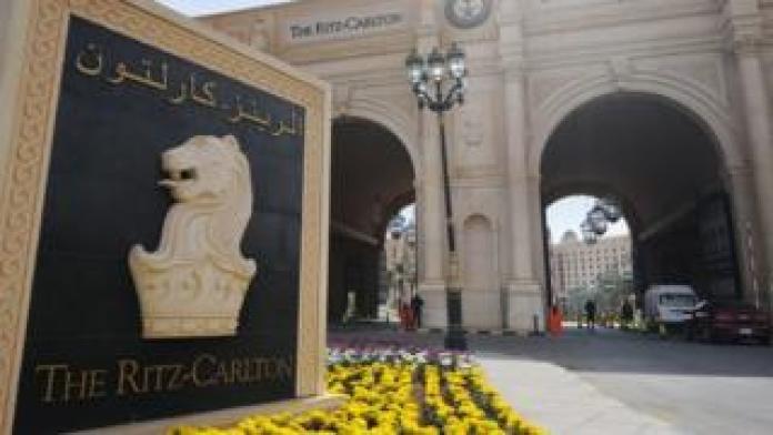 The Ritz Carlton in Riyadh on February 11th