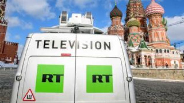 Russia Today van