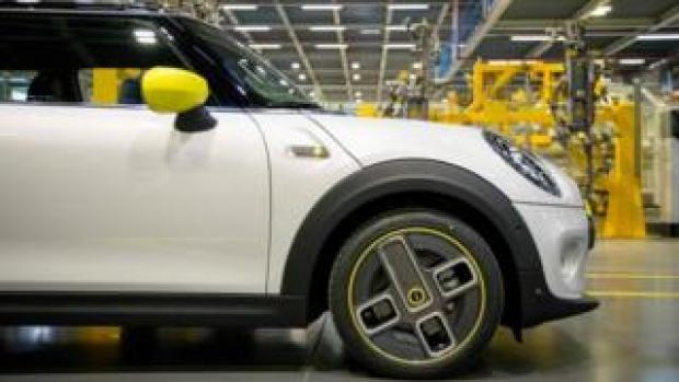 Mini at the Cowley plant