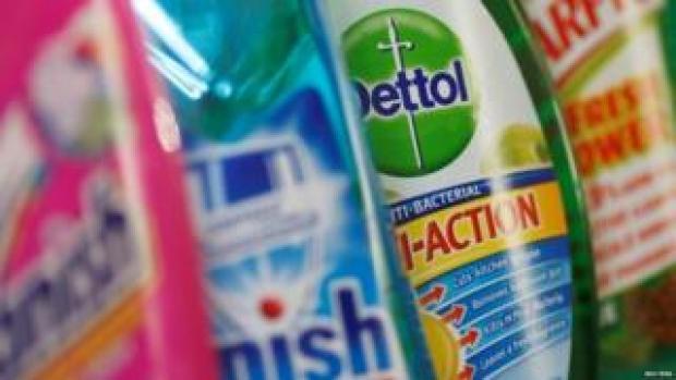 Dettol and other Reckitt Benckiser brands