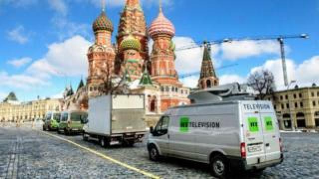 RT trucks in Moscow