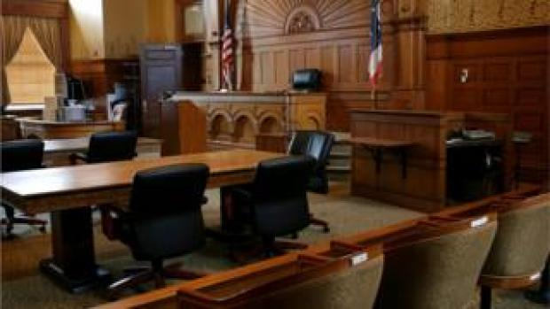 Courtroom stock
