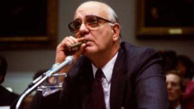 Paul Volcker in 1986