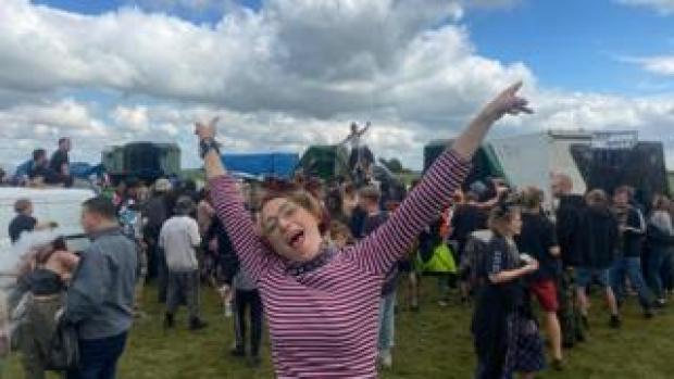 The illegal rave near Bath