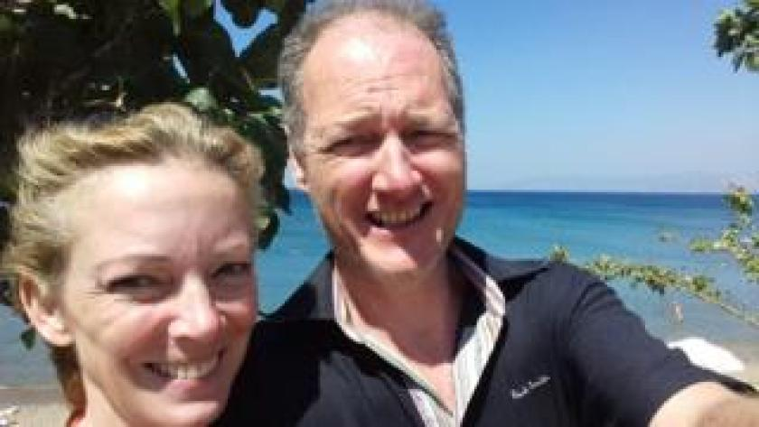 Susanna Naylor and her husband Chris