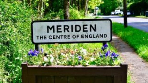 The Meriden sign