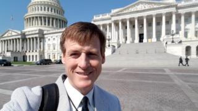 US radio journalist Jamie Dupree