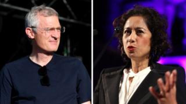 Jeremy Vine and Samira Ahmed