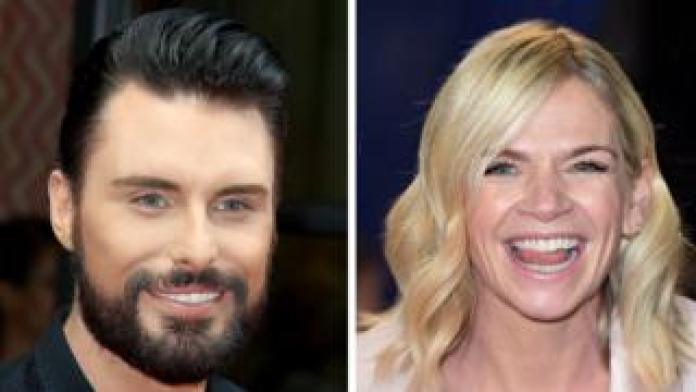 Rylan Clark-Neal and Zoe Ball