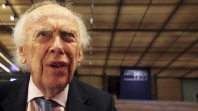 Scientist James Watson in picture from 2009