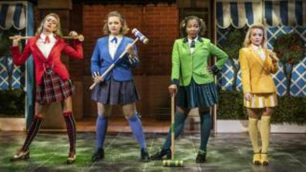 Jodie Steele, Carrie Hope Fletcher, T'Shan Williams and Sophie Isaacs