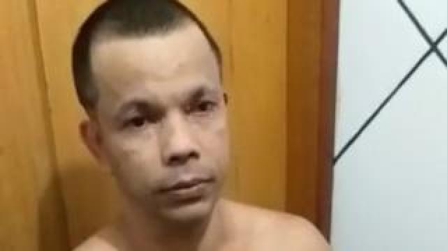 Clauvino da Silva is pictured at the Bangu jail complex, Gericino, Rio De Janeiro, Brazil, August 3, 2019