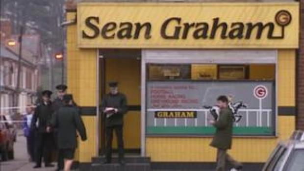 Shootings at Sean Graham bookmakers