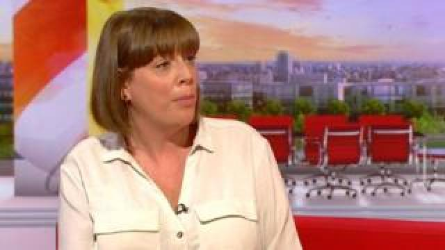 Jess Phillips on BBC Breakfast