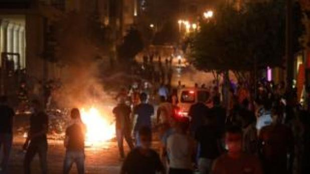 Security: Protests in Beirut