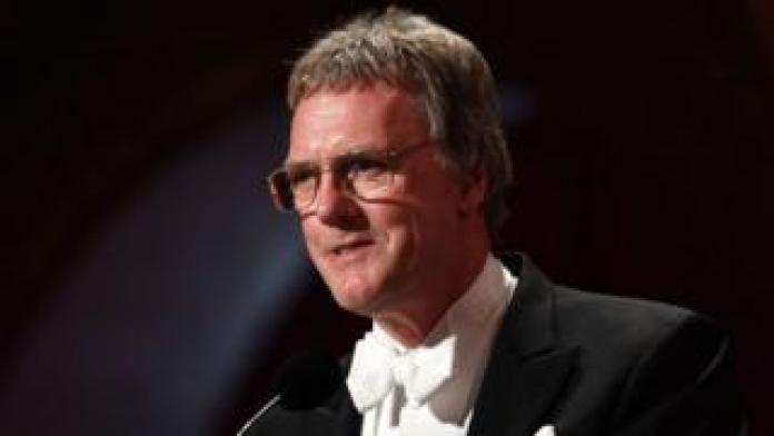Peter Ratcliffe at the Nobel Prize ceremony on December 10, 2019.