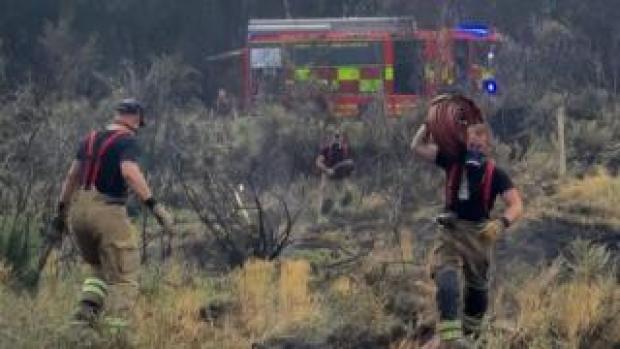 Chobham Common wildfire