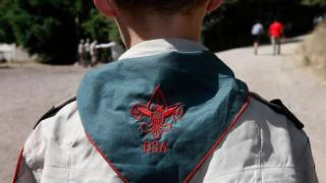 A Boy Scout of America