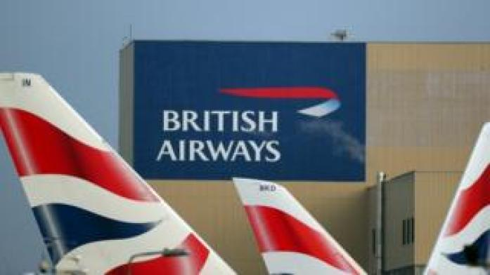 British airways sign
