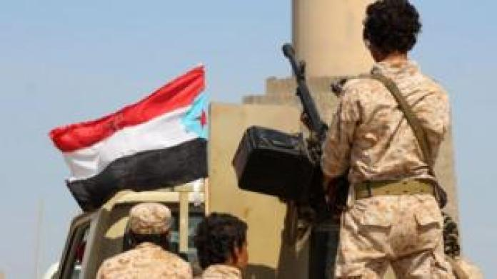 Security Belt Force fighters, a member of the Southern Transitional Council, were heading from Aden to Abyan Governorate on November 26, 2019.