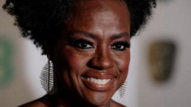 Viola Davis at the Baftas