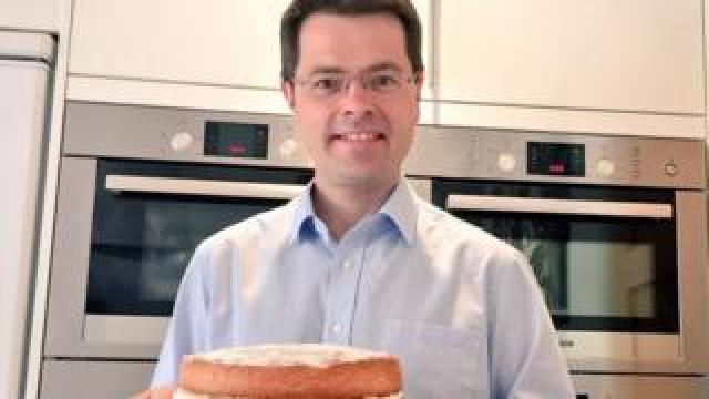 James Brokenshire with his ovens