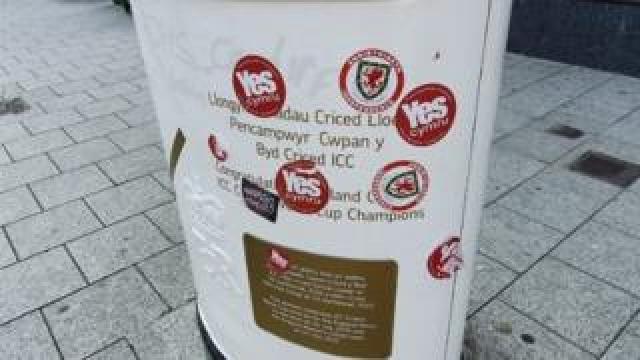 Cardiff post box