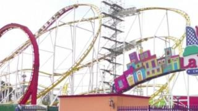 La Feria Chapultepec amusement park in Mexico City, Mexico. Photo: 29 September 2019