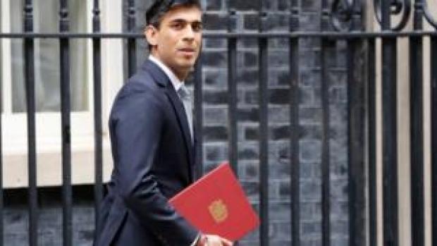 Rishi Sunak in Downing Street