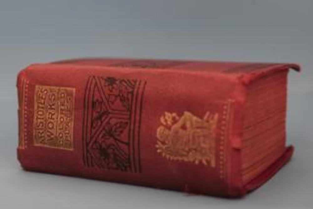 The works of Aristotle, 1855
