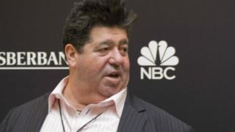 Publicist Rob Goldstone attends the Miss Universe 2013 pageant at the Crocus City Hall in Moscow, Russia November 2013