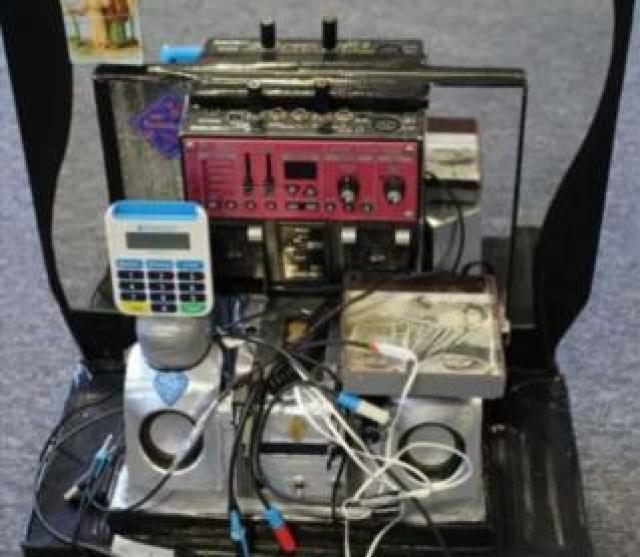 Device built by fraudster Tony Colston-Hayter