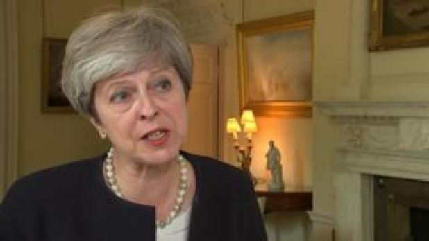 Theresa May talks about North Korea's missile tests over Japan