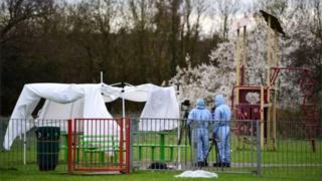 Crime scene investigation after a knife murder