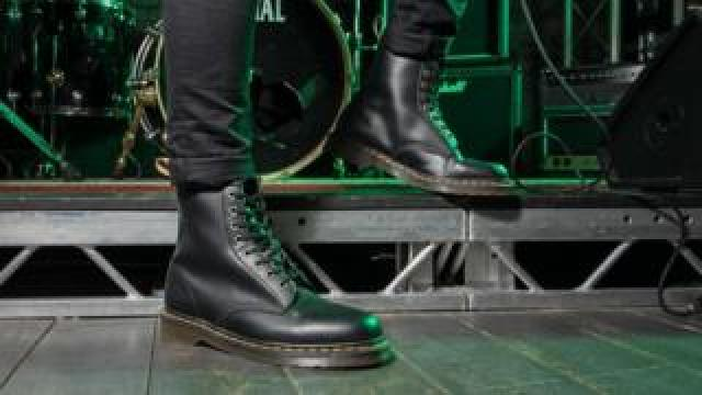 Doctor Martens' vegan boots