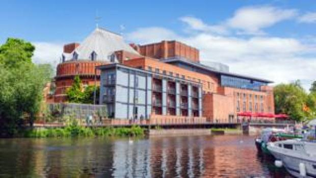 The RSC complex in Stratford-upon-Avon