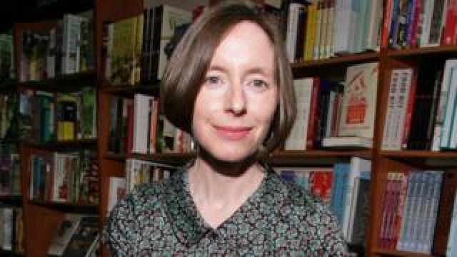 Selina Todd at Blackwells Bookshop, Oxford, UK