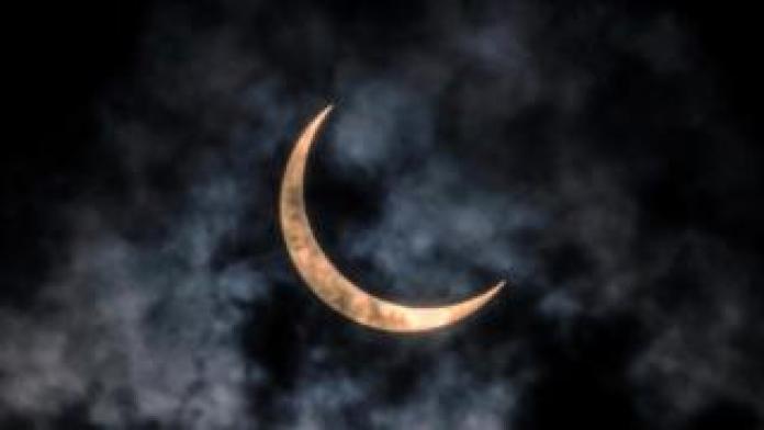 Eclipse seen from Guangzhou, China