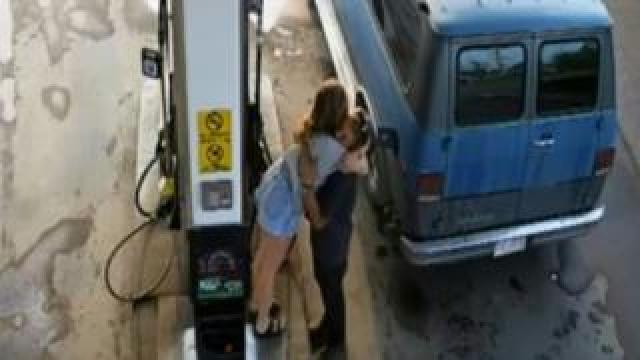 CCTV footage of Lucas Fowler and Chynna Deese embracing.