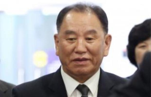 Kim Yong-chol, a senior North Korean official who leads negotiations with the United States.