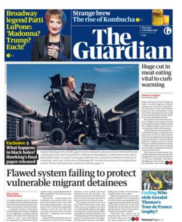 The Guardian - 11 Oct