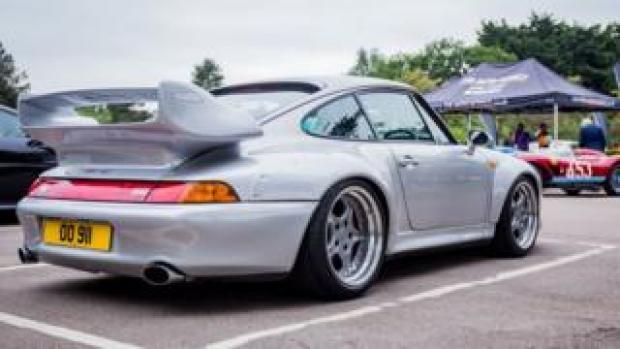 Grey Porsche