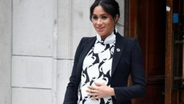 The Duchess of Sussex in March