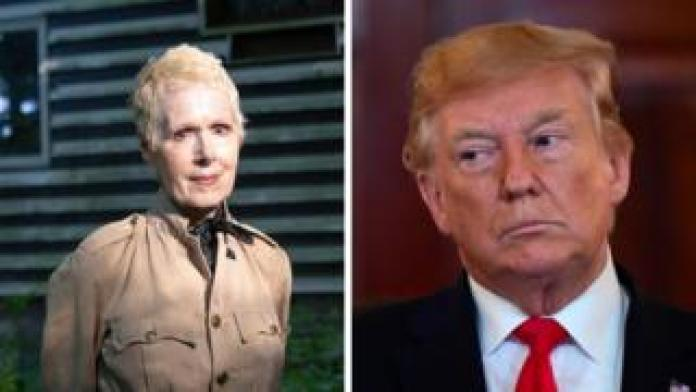 E. Jean Carroll and Donald Trump