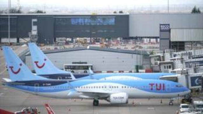 Planes Tui Boeing 737 Max