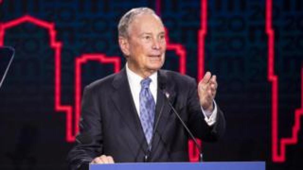 trump Mike Bloomberg